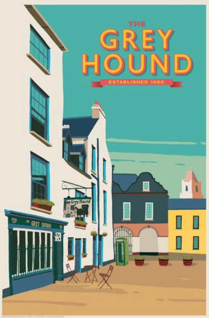 the greyhound pub kinsale by thecanvasworks.ie