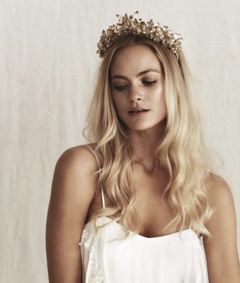 bo and luca gown crystal headband