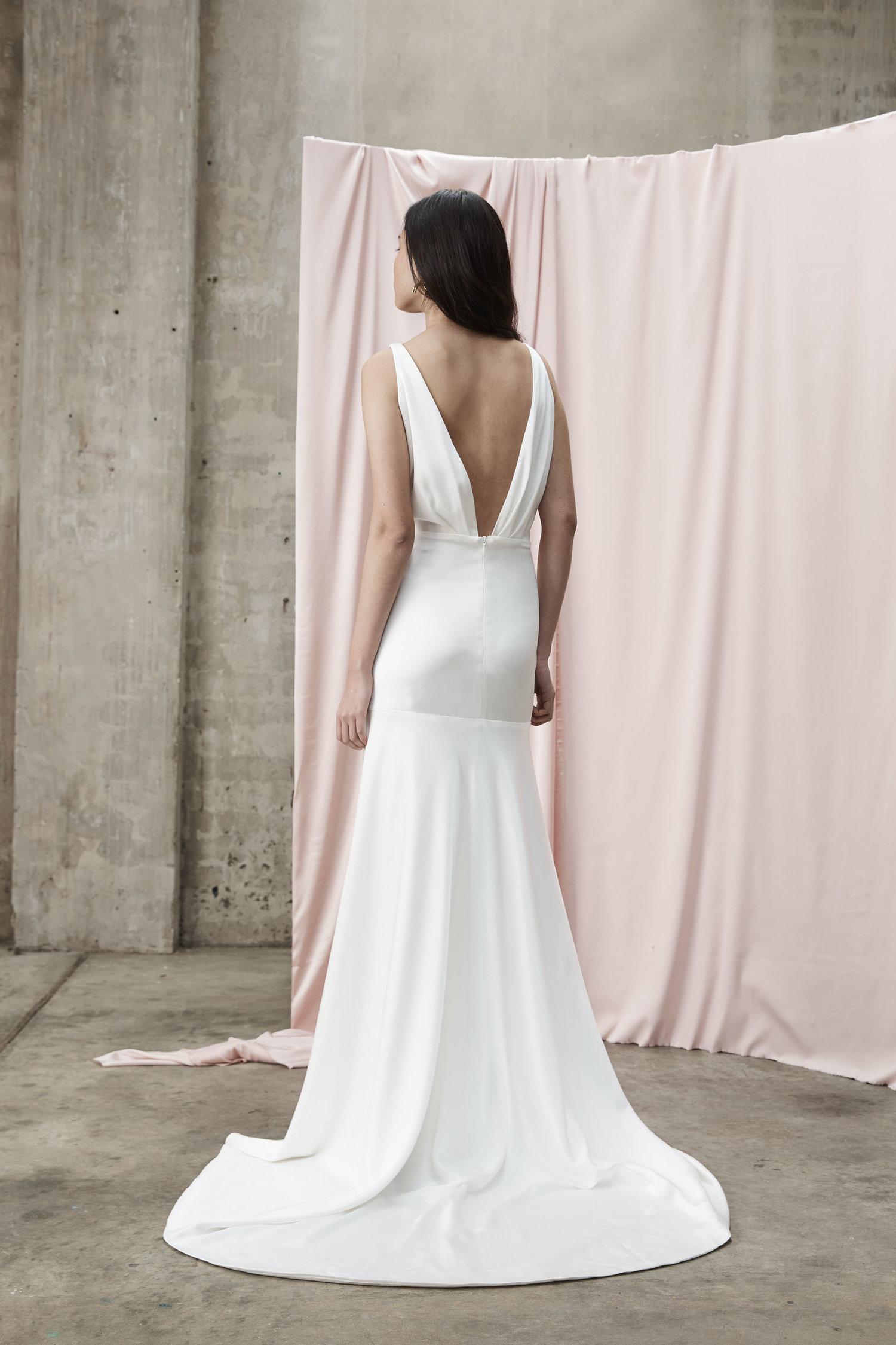 Prea James Asta Wedding Dress Back Detail