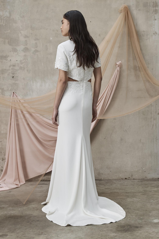 Prea James Carolyn Wedding Dress Back Detail