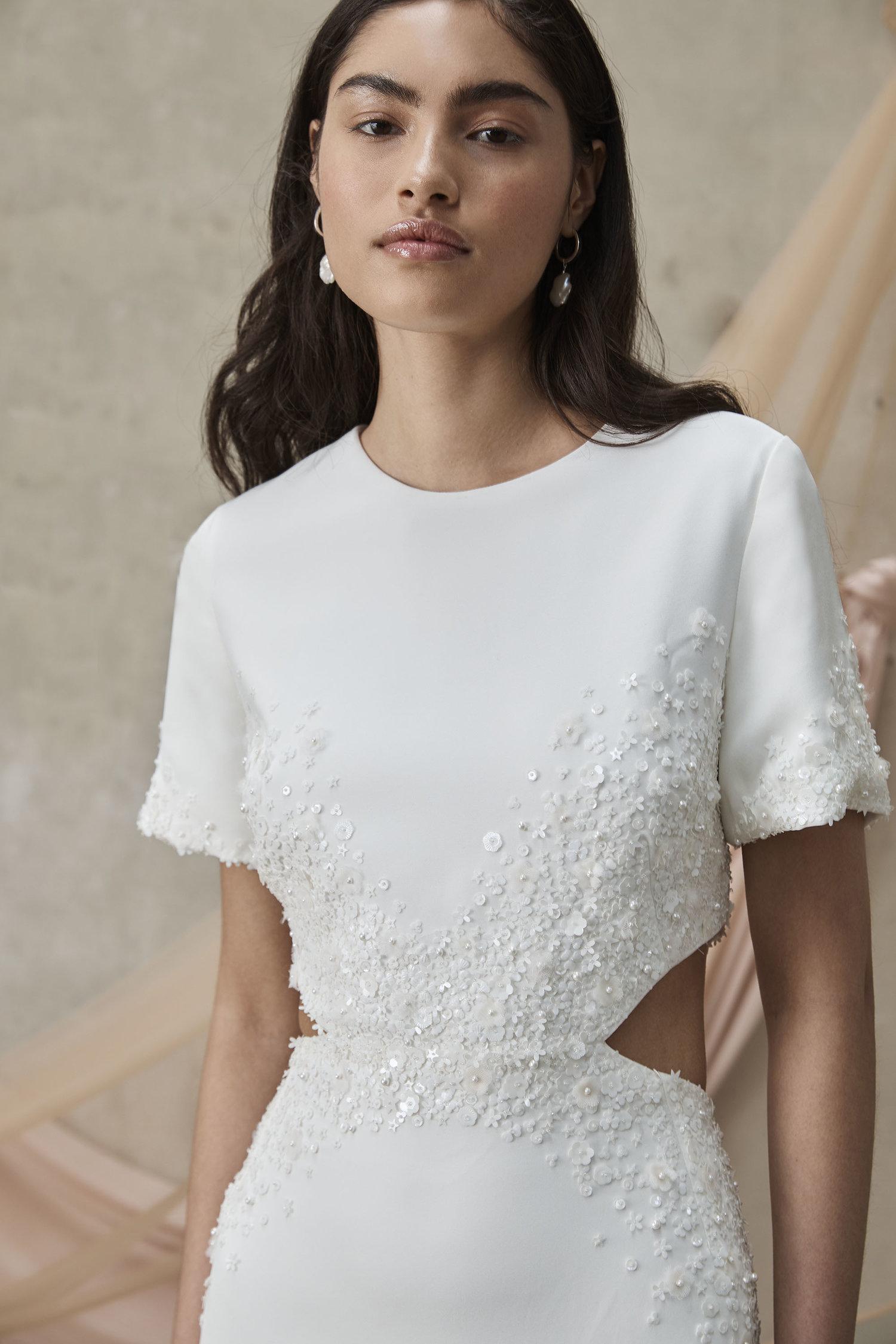 Prea James Carolyn Wedding Dress Embellishment Detail