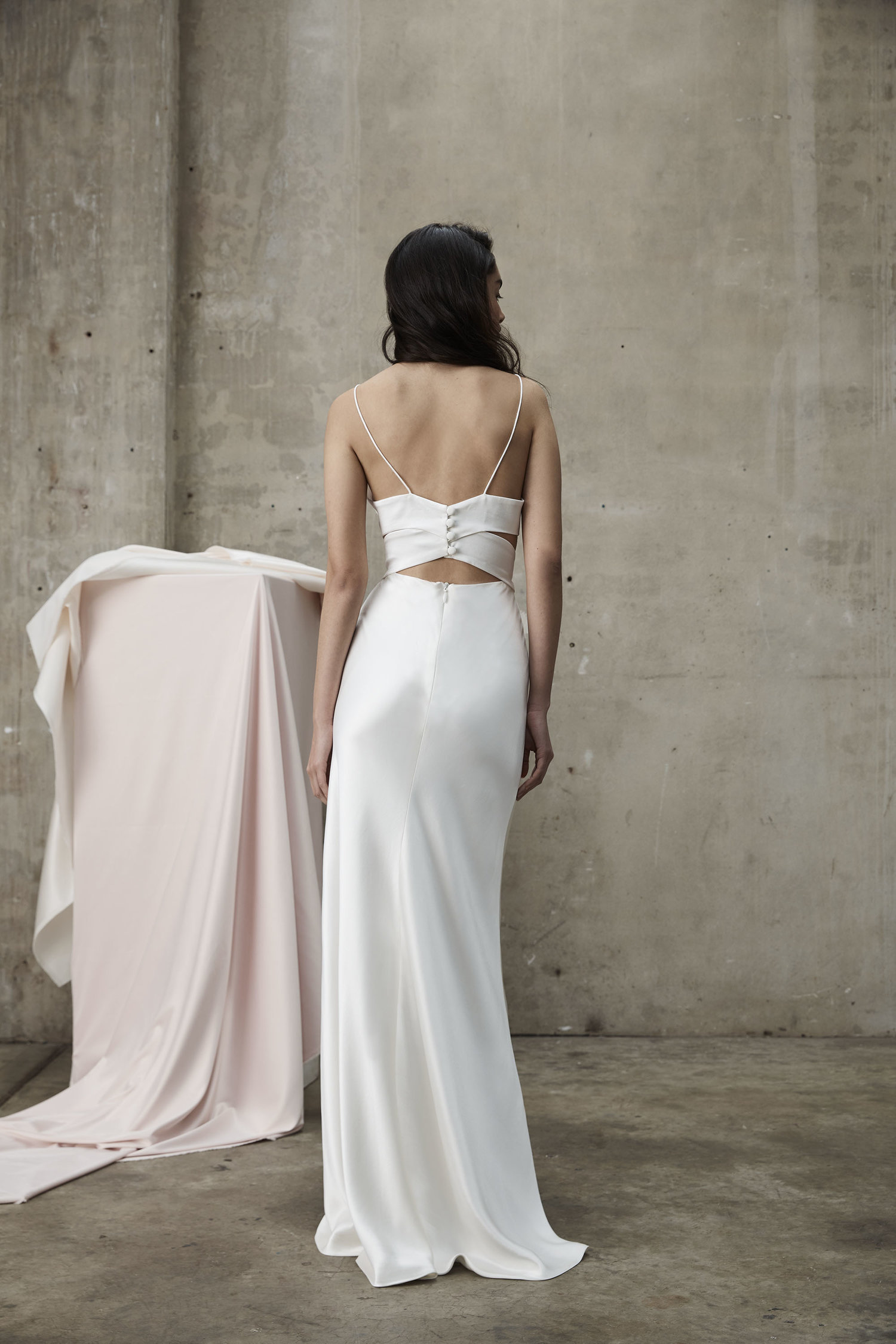 Prea James Tyler Wedding Dress Back
