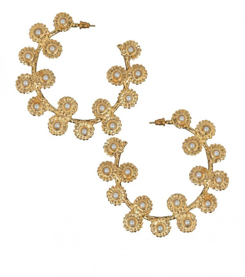 gold-floral-pearl-hoop-earrings