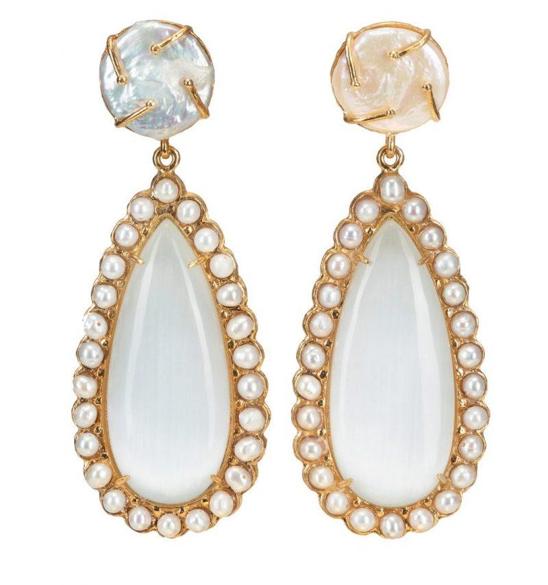 Pearl-teardrop-earrings