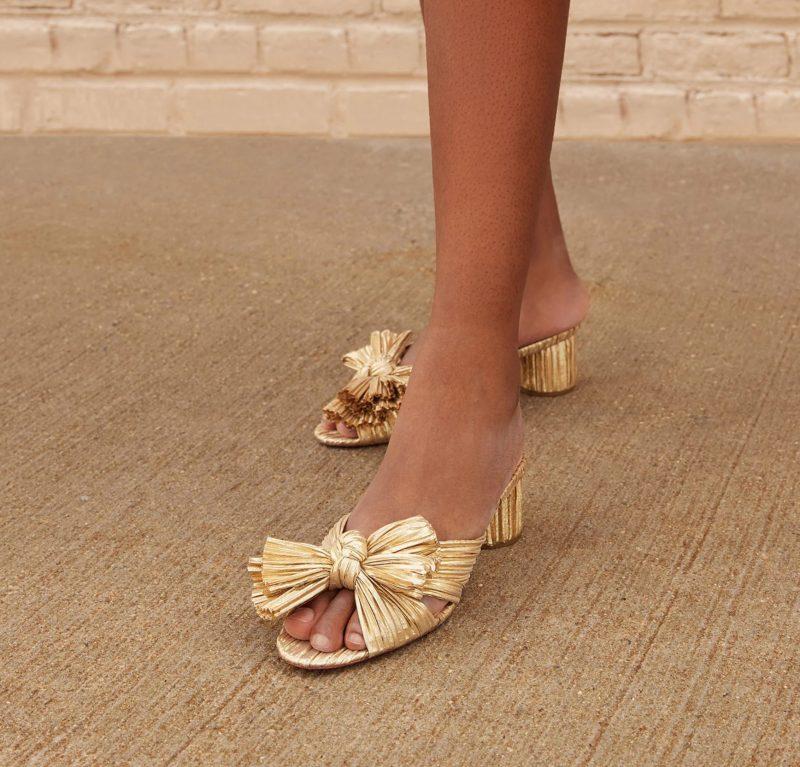 gold-low-heel-mules