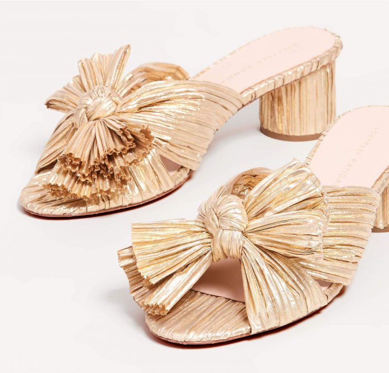 emilia-gold-pleated-low-heel-mules