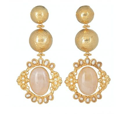 rose-quartz-gold-statement-earrings