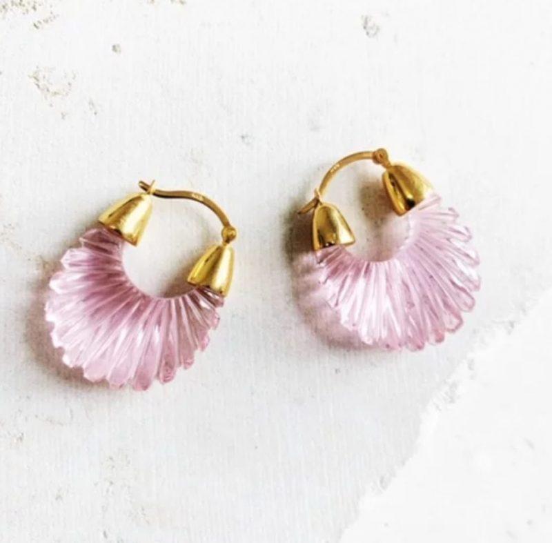 pink-gold-hoop-earrings