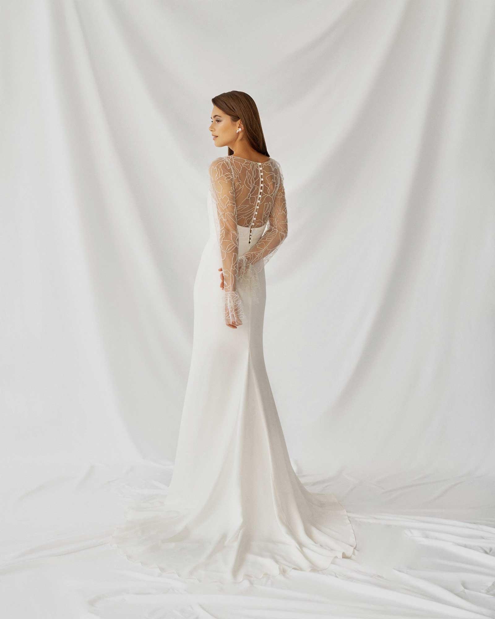 Alexandra Grecco Bryn Dress Back