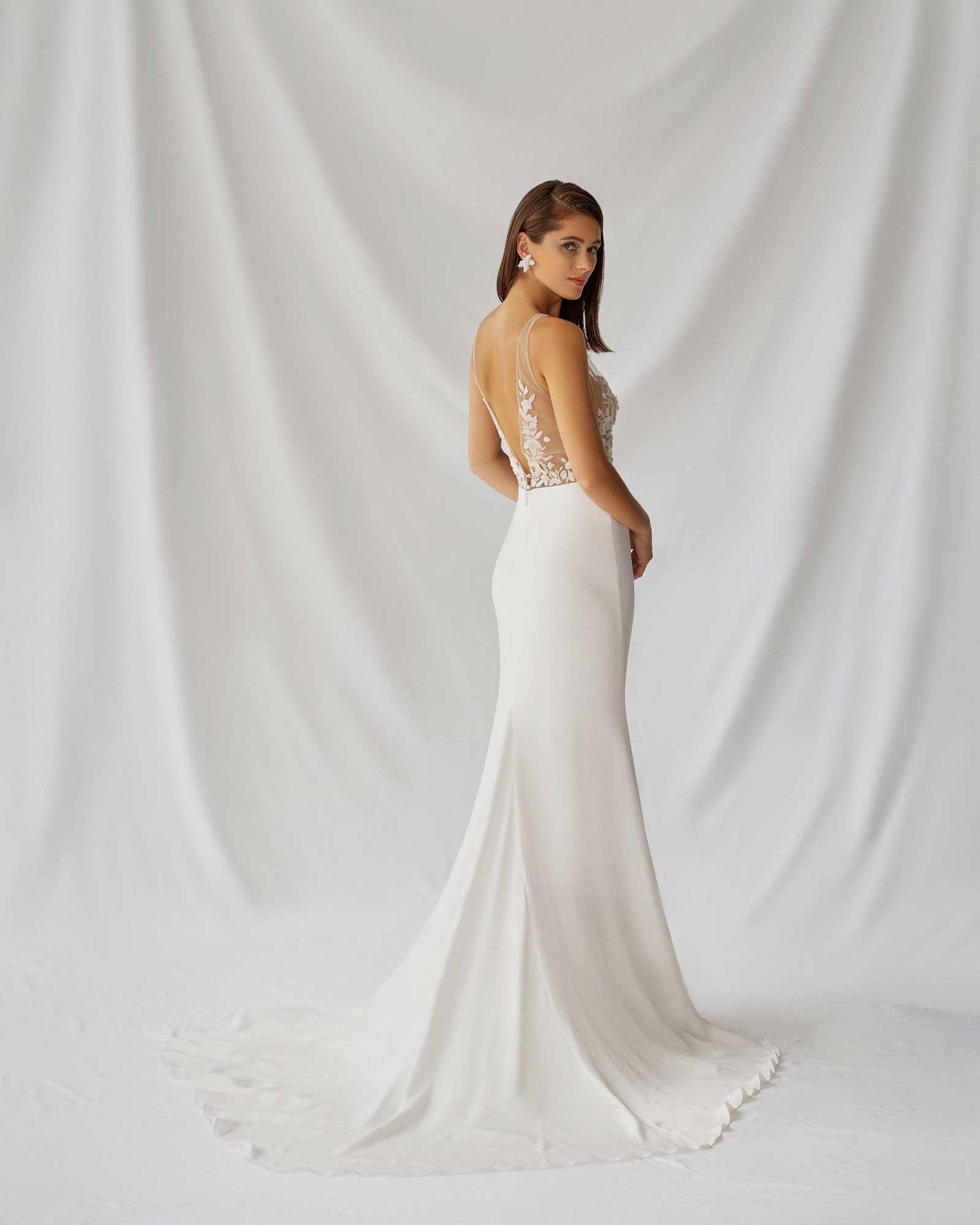 Alexandra Grecco Nerine Dress Back