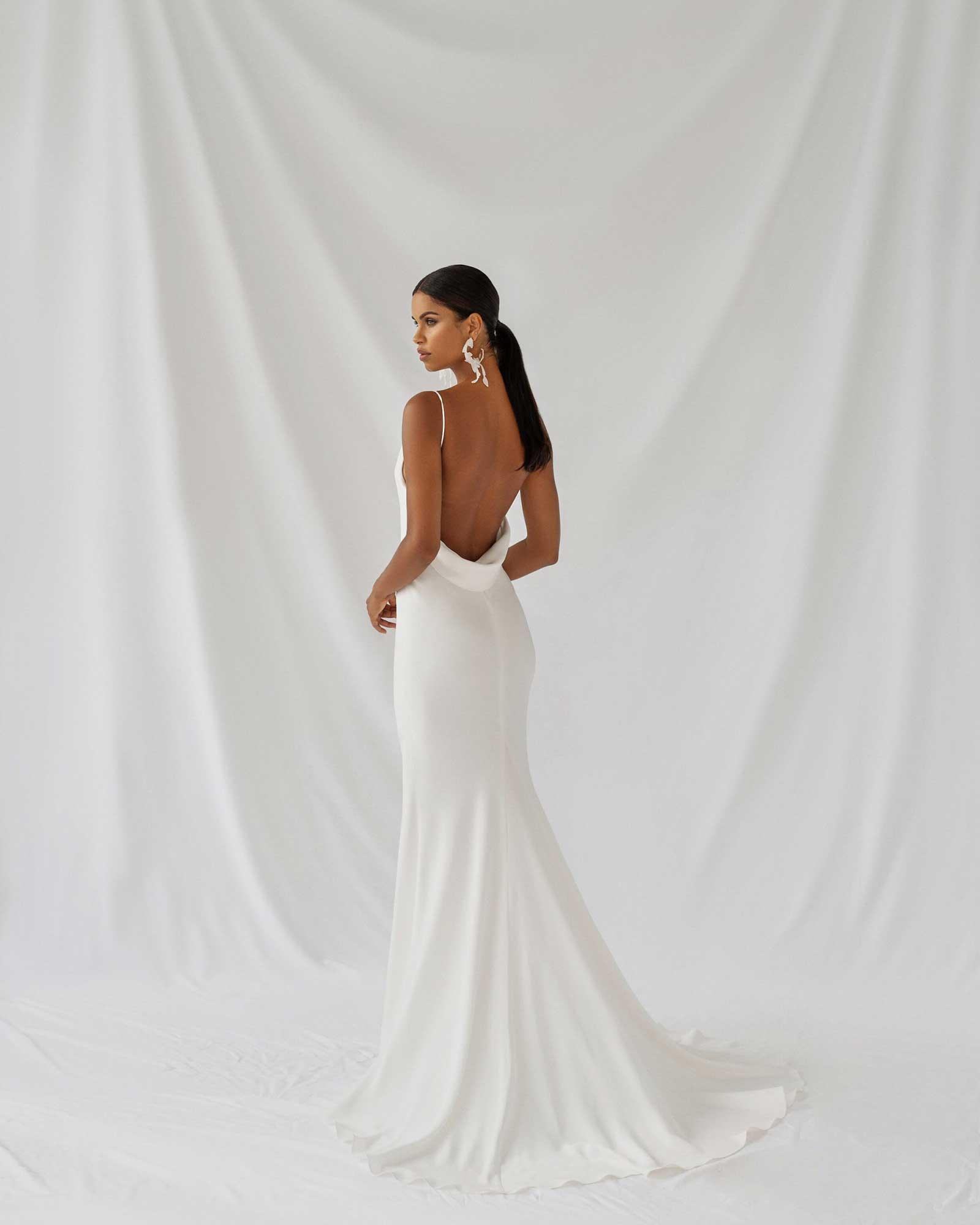 Alexandra Grecco Lotus Dress Back