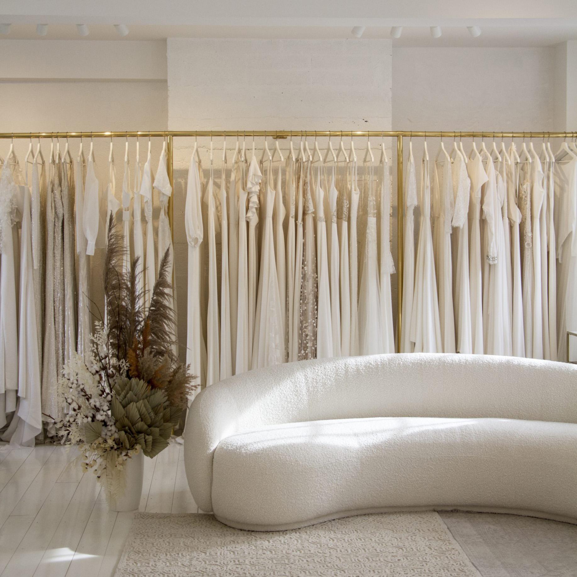 The White & Gold Bridal Shop