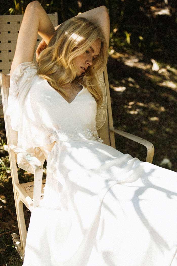 Bo & Luca Rosa Wedding Dress Beaded Bohemian