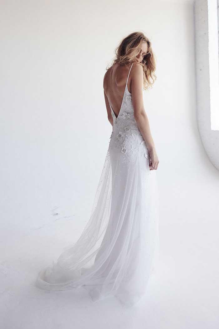 Bo & Luca Iris Beaded Wedding Dress