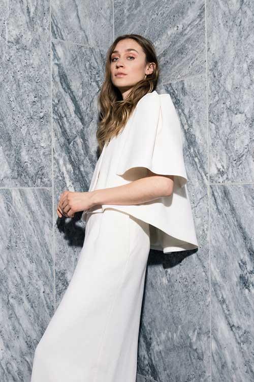 Maria Fekih Aleea Helga Wedding Dress Jacket