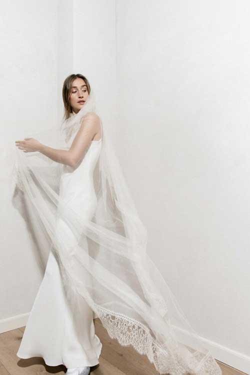 Maria Fekih Noomi Bridal Veil