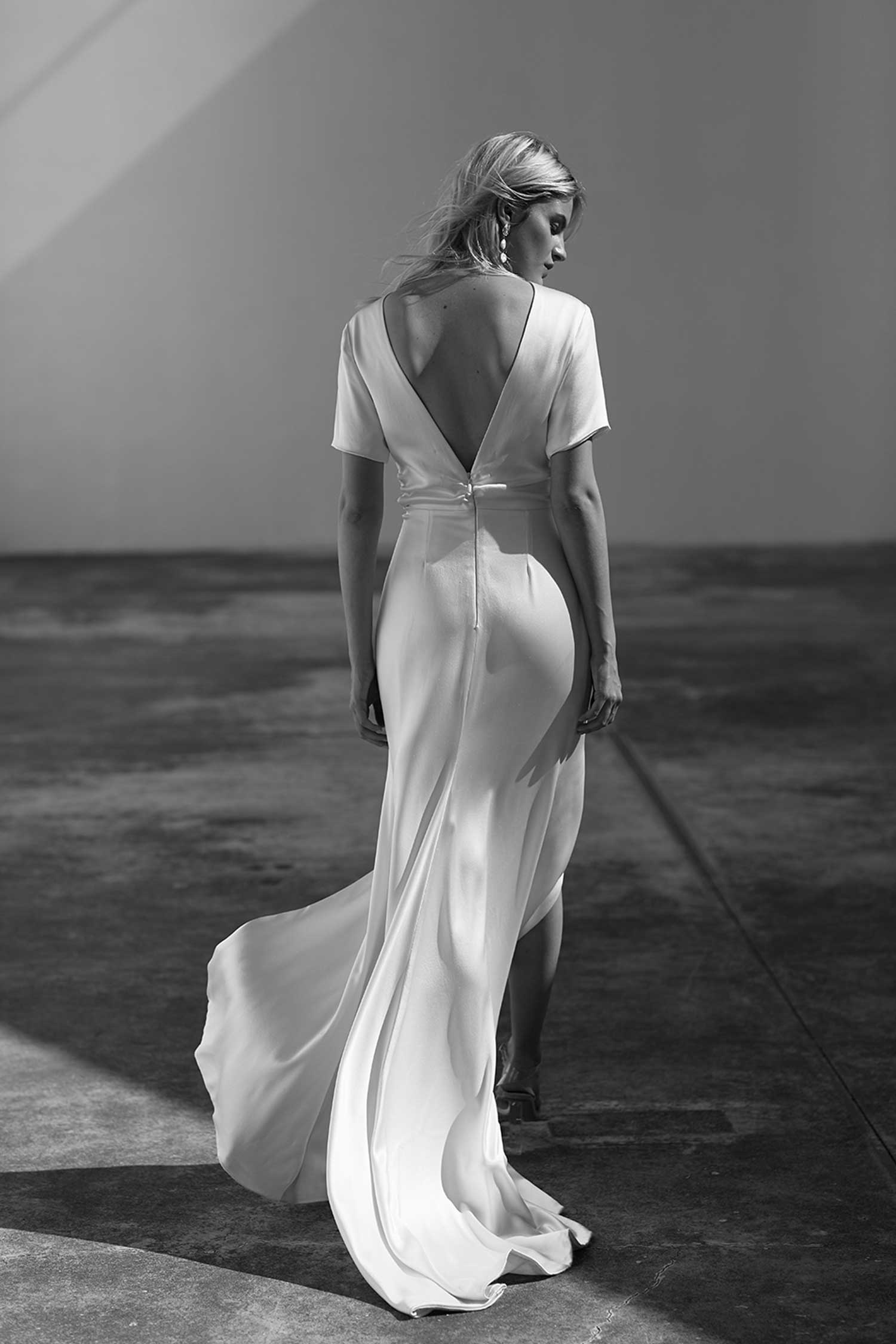 Prea James Cara Wedding Dress Back Detail