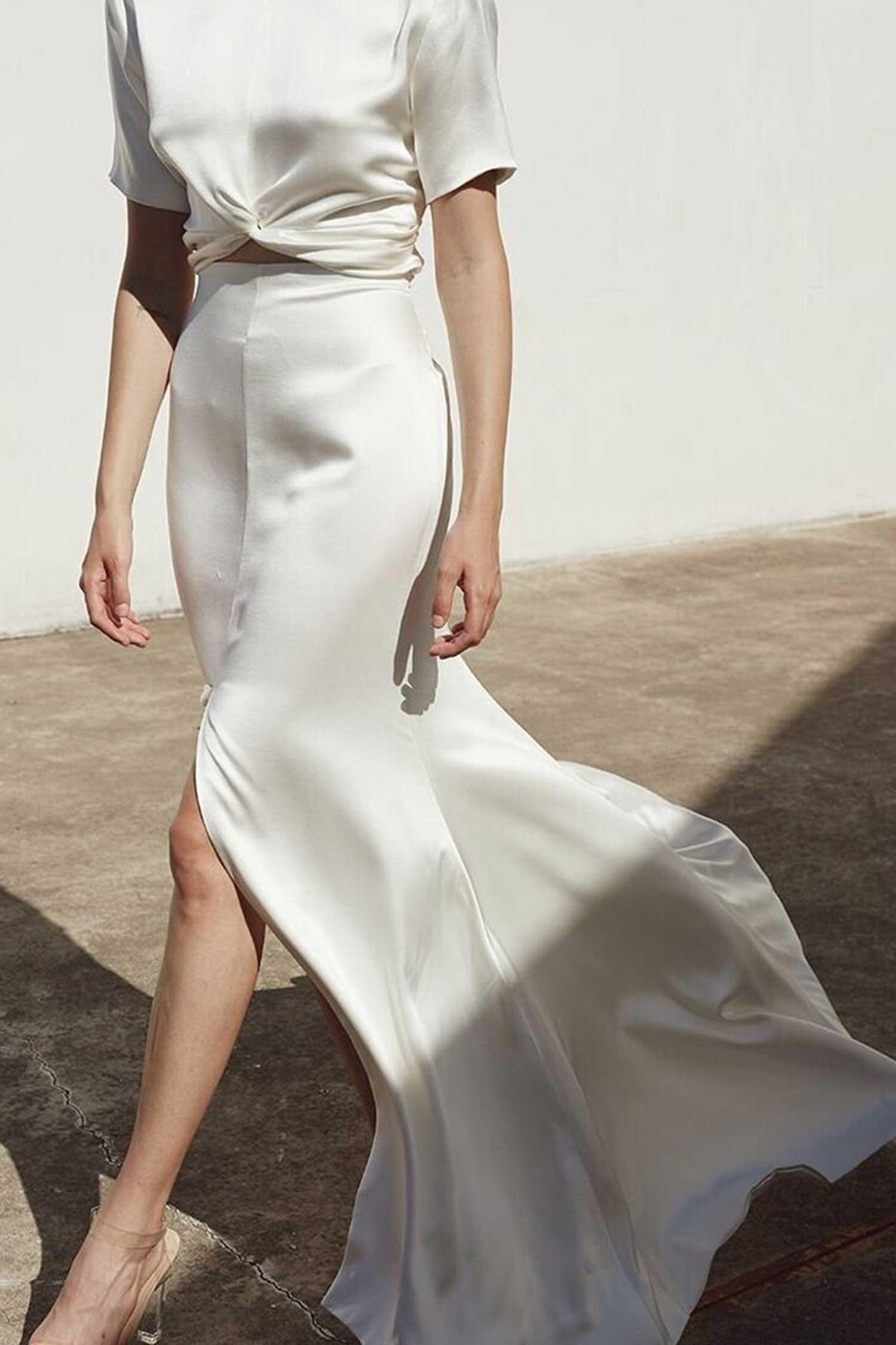 Prea James Cara Wedding Dress Skirt