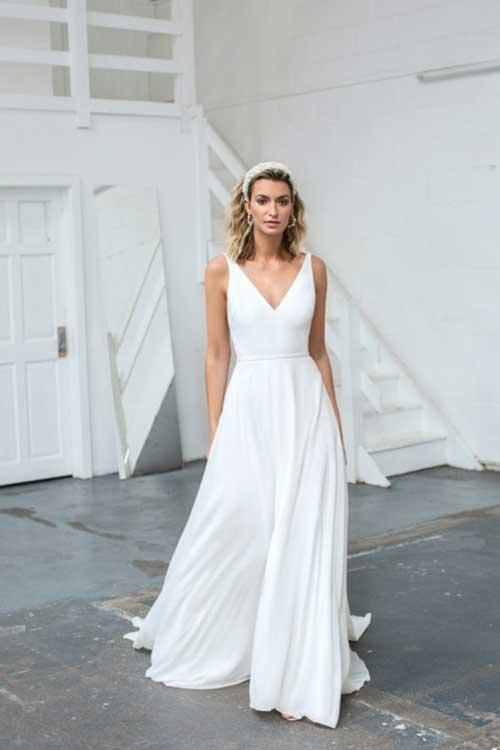 Love Story Bride Grace Silk Chiffon Wedding Dress