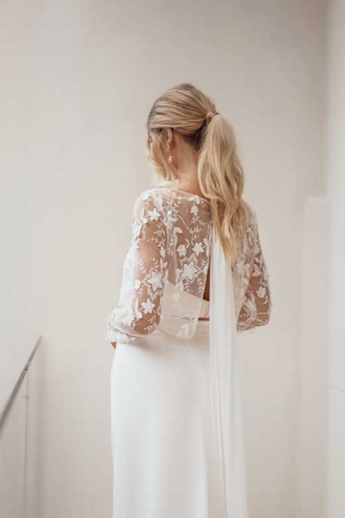 Love Story Bride Grace Top Weddingg Cover Up