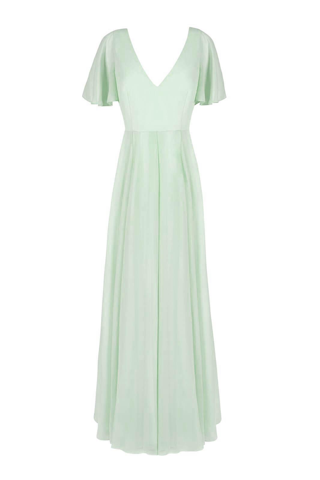 TH&H Bridesmaid Dress Mint