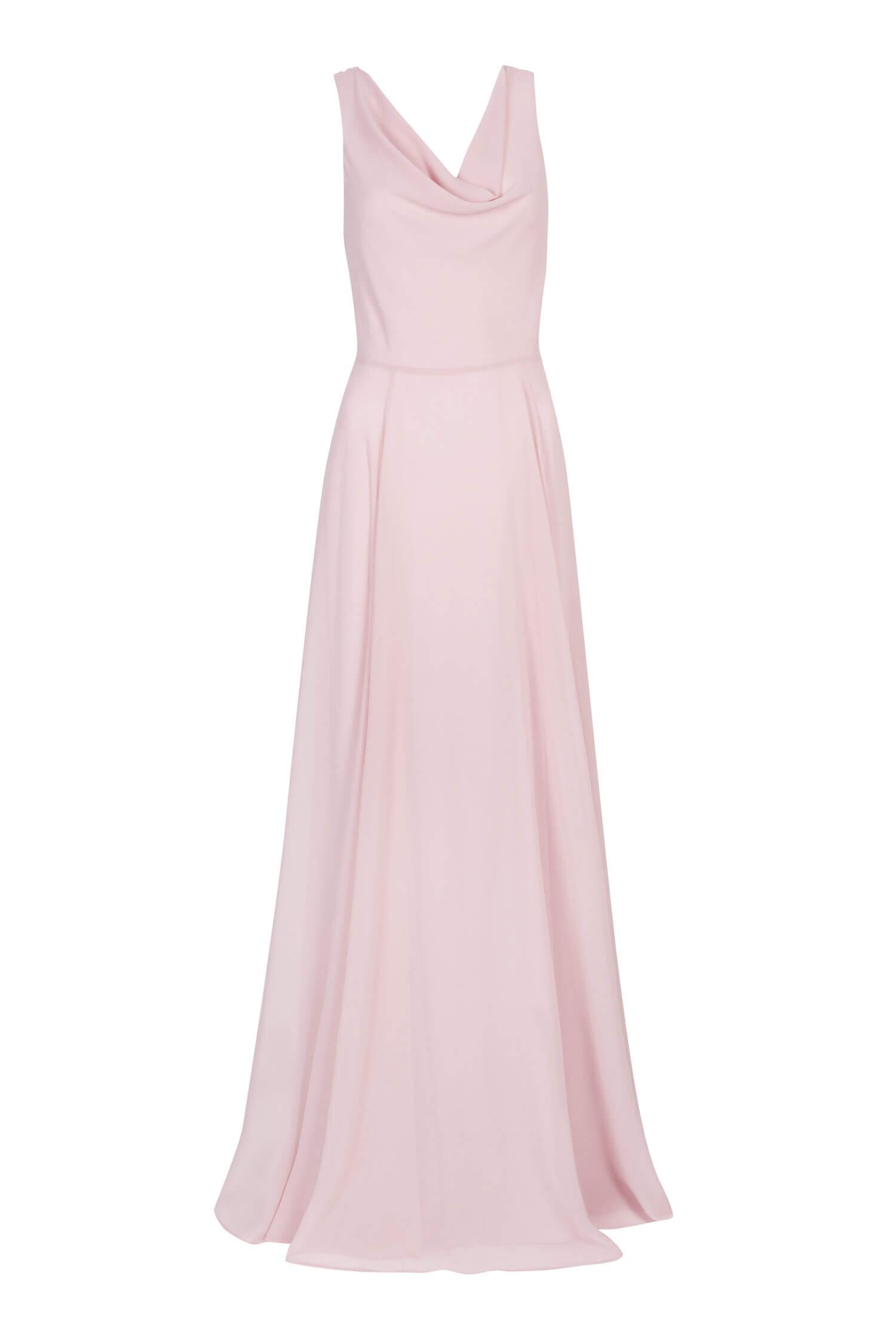 TH&H Athena Bridesmaid Dress TH&H Bridesmaid Dress Blush Pink