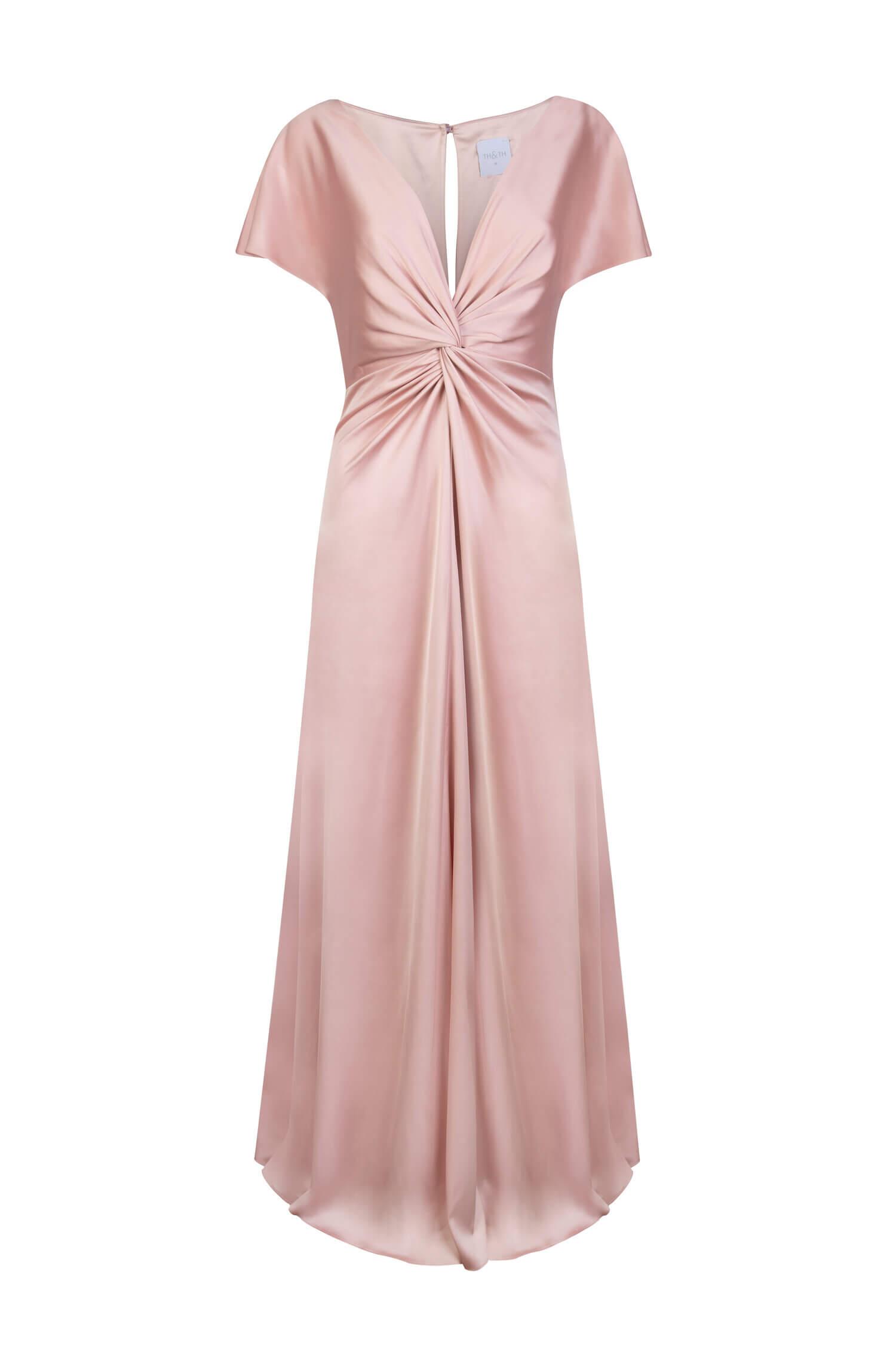TH&H Camilla Bridesmaid Dress TH&H Bridesmaid Dress Blush Pink