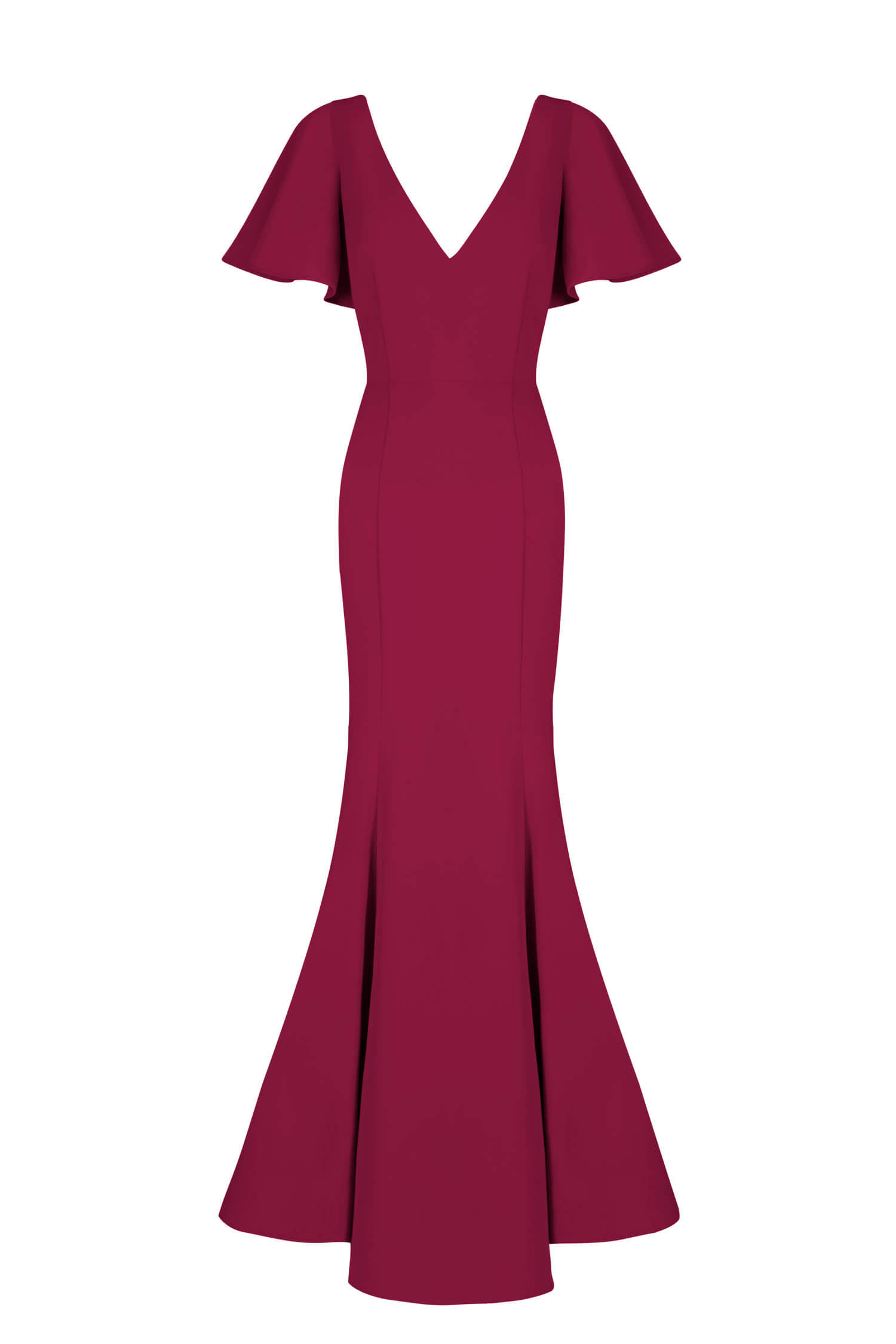 TH&H Celeste Bridesmaid Dress TH&H Bridesmaid Dress Roseberry Burgundy