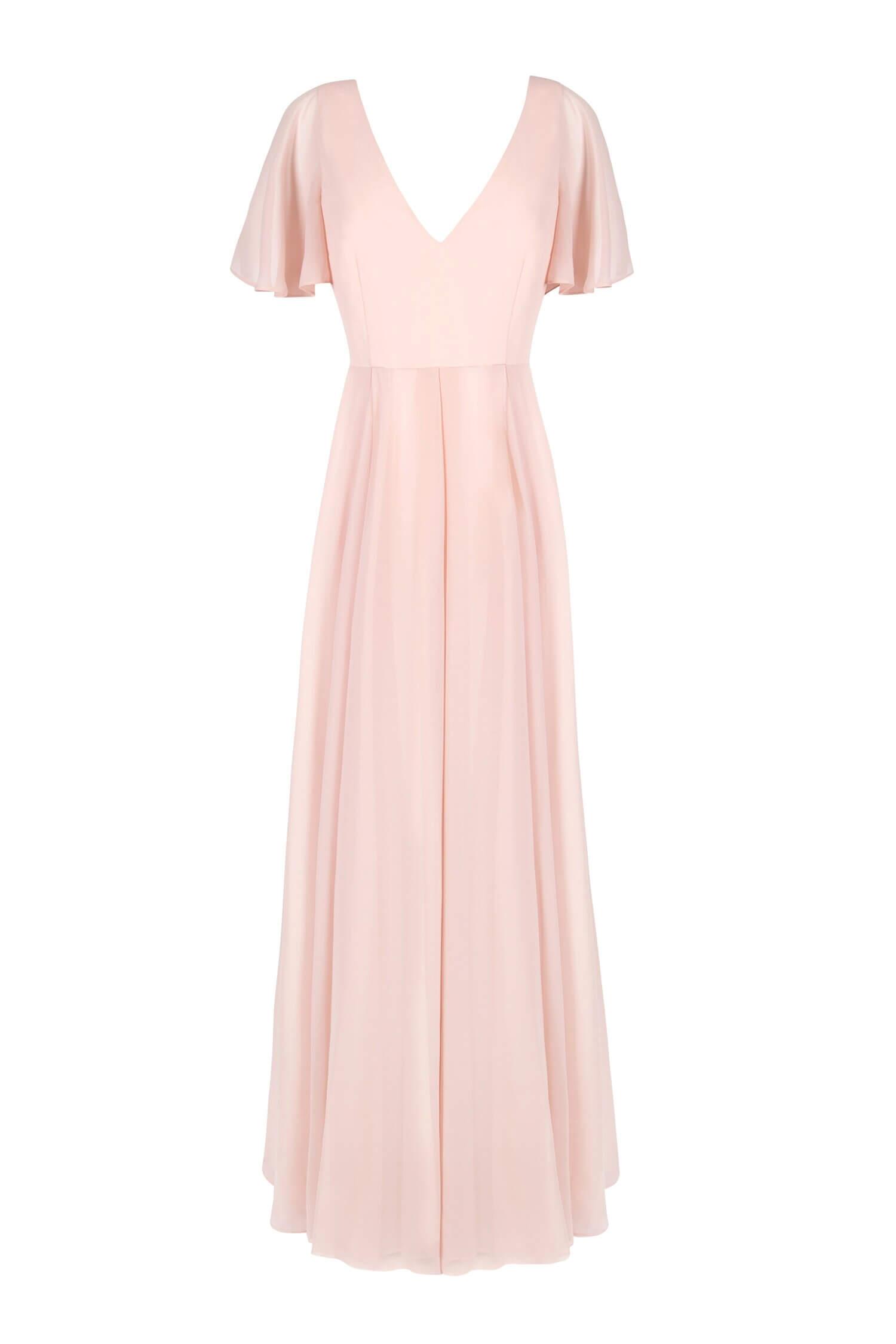 TH&H Phoebe Bridesmaid Dress TH&H Bridesmaid Dress Blush Pink