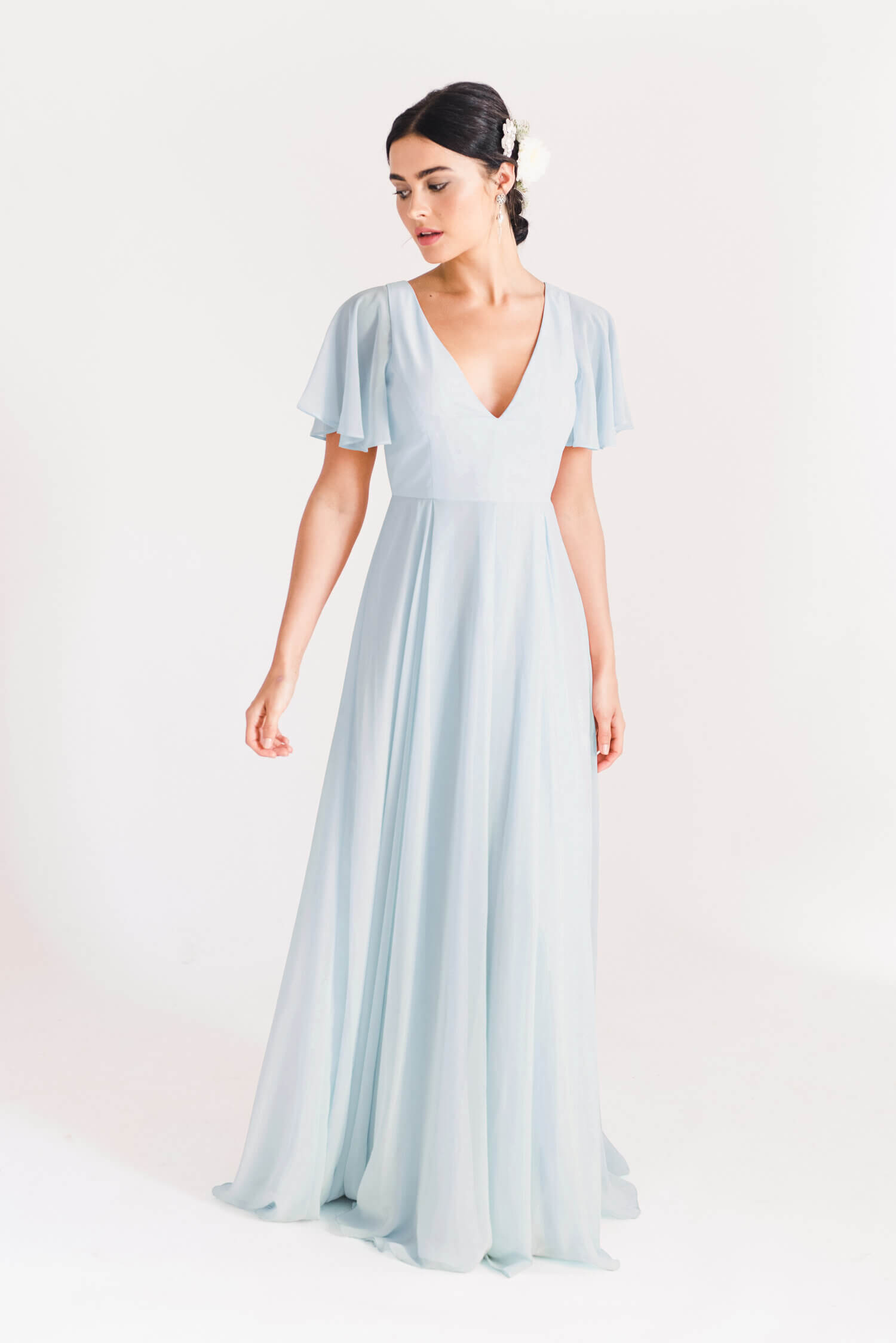 TH&H Phoebe Bridesmaid Dress TH&H Bridesmaid Dress Blue