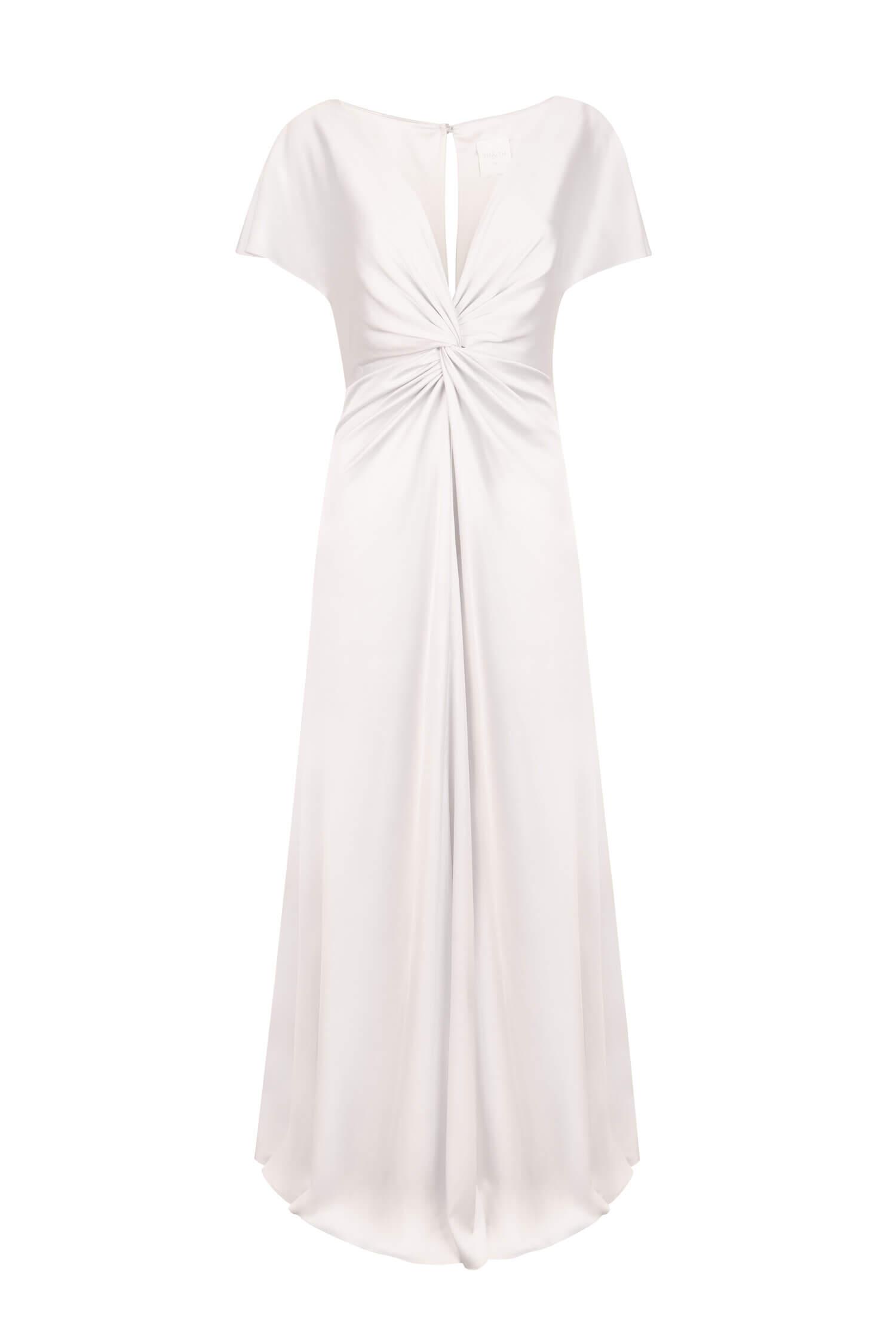 TH&H Camilla Bridesmaid Dress TH&H Bridesmaid Dress Silver White