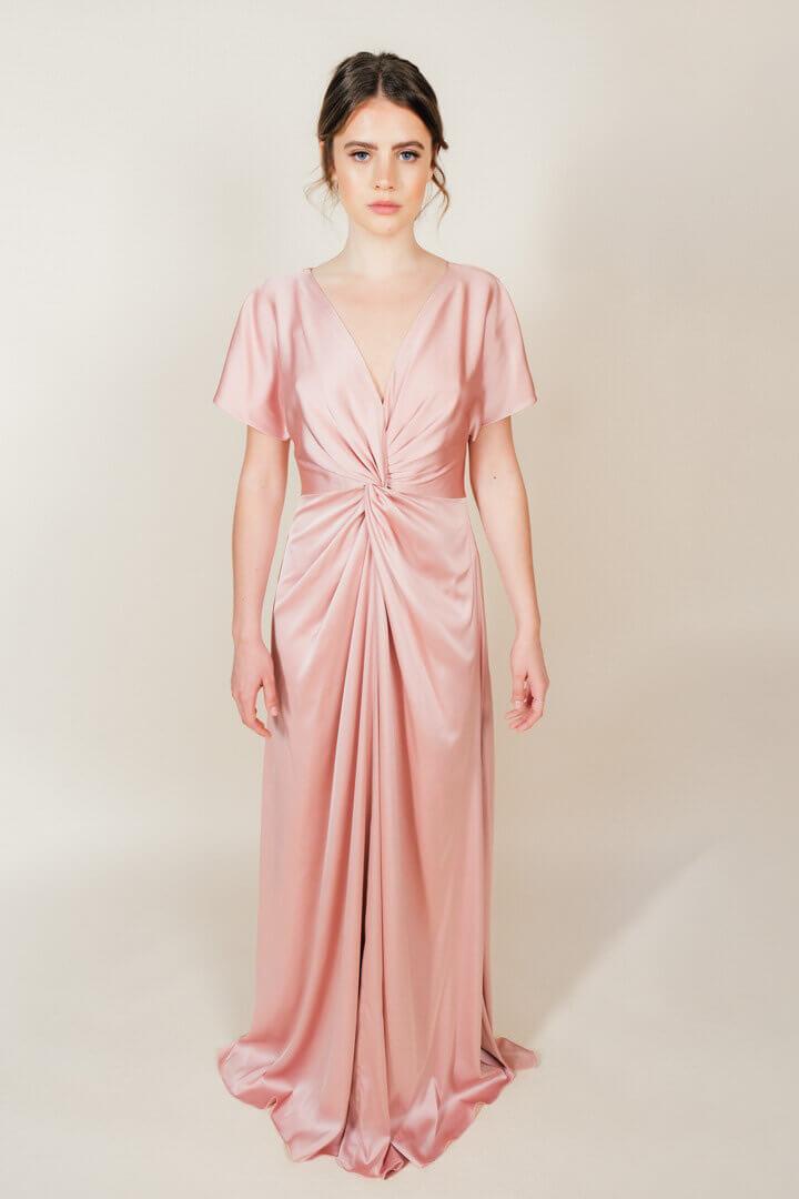 TH&H Camilla Bridesmaid Dress TH&H Bridesmaid Dress Pink