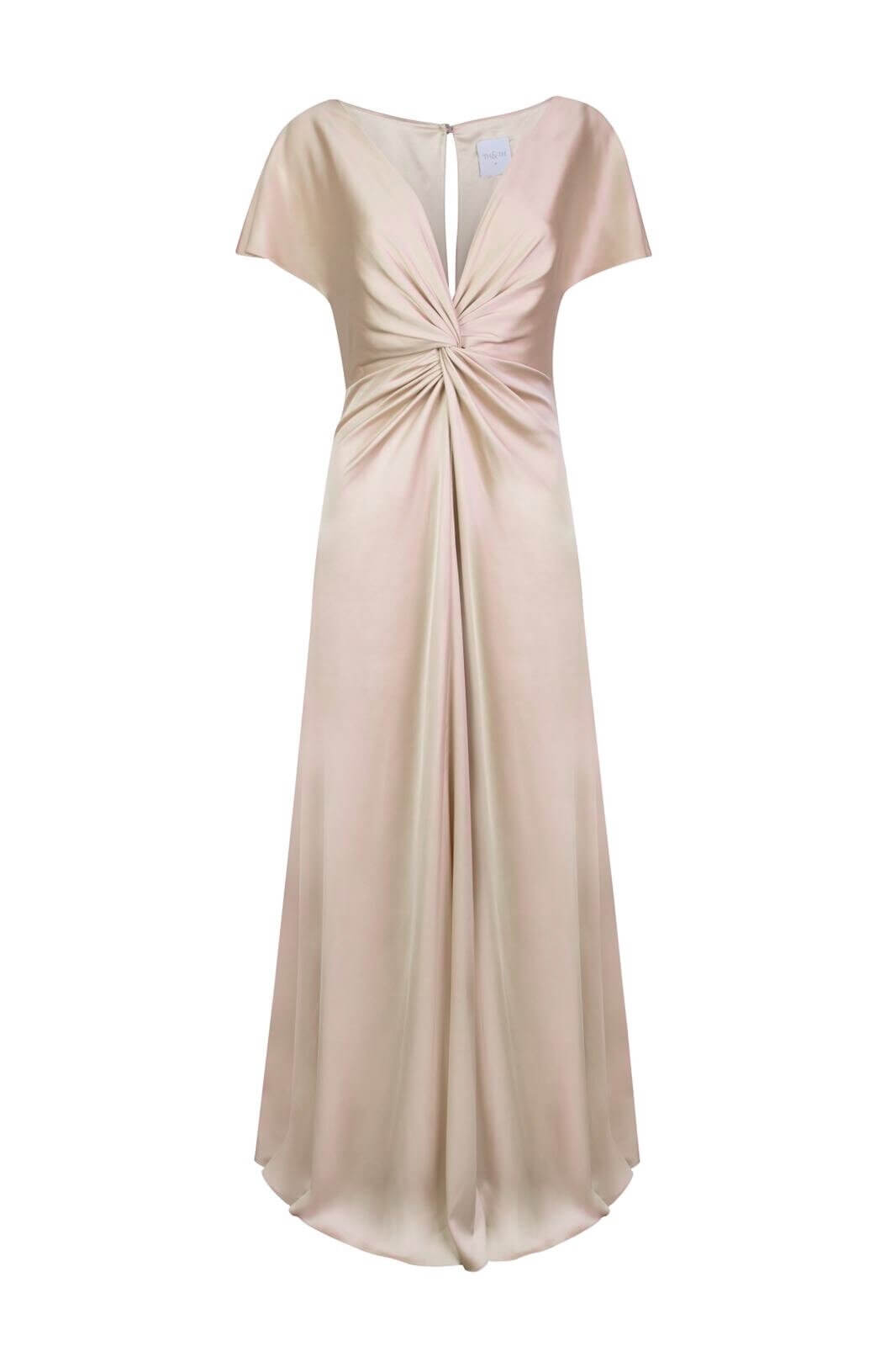 TH&H Camilla Bridesmaid Dress TH&H Bridesmaid Dress Gold
