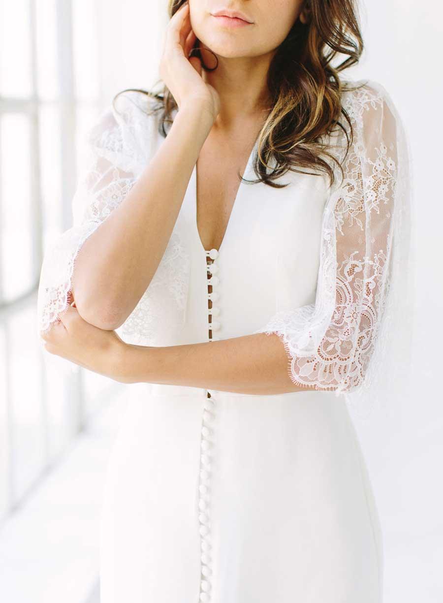 Tatyana Merenyuk Josephine Wedding Dress Detail