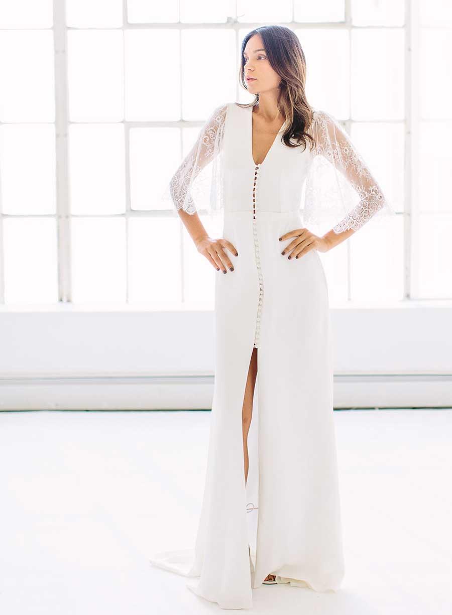Tatyana Merenyuk Wedding Dress Chantilly Lace