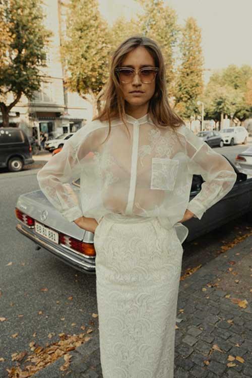 Maria Fekih Helga Bridal Skirt