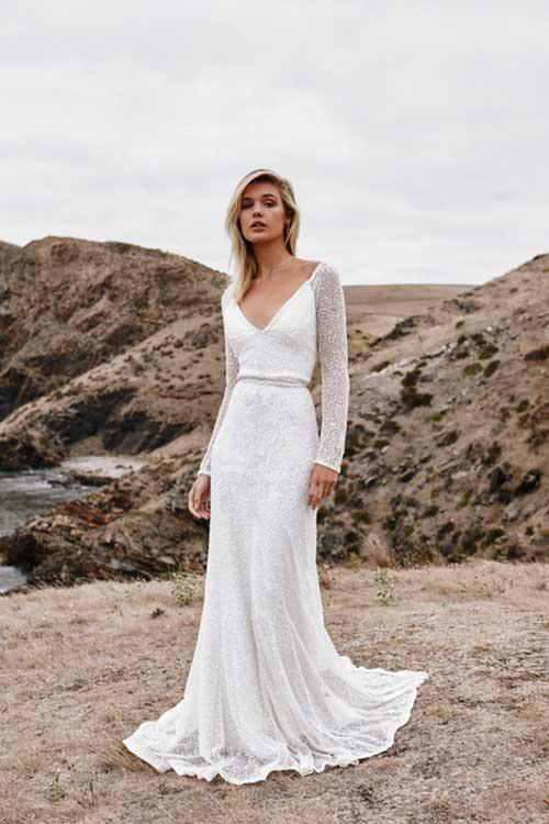 Karen Willis Holmes Celine Wedding Dress