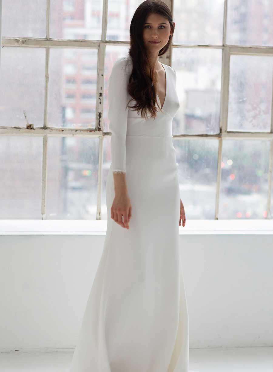 Tatyana Merenyuk Odessa Wedding Dress Long Sleeves